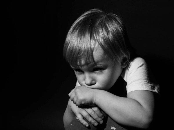 ensamt barn