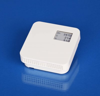 room CO2+T+rH transmitter with display