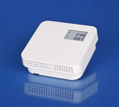 room humidity and temperature transmitters with display RHT