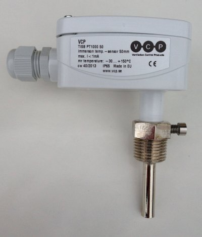 Immersion Temperature Sensors TISB and TISS