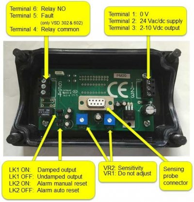 pcb for duct smoke detector VSD-series