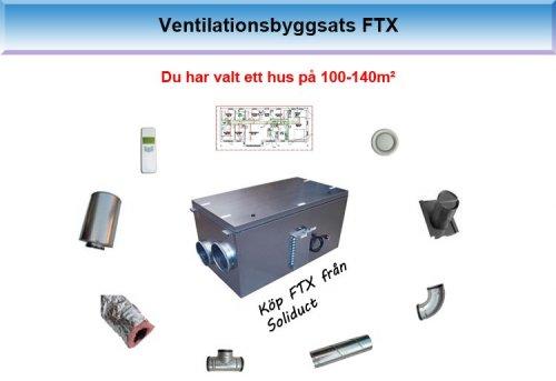 Ventilationsbyggsats