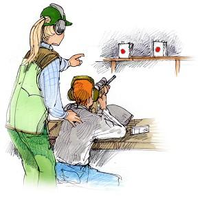 Bildresultat för luftgevärsskytte