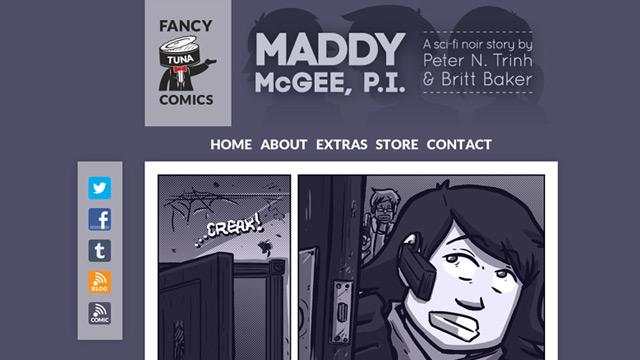 MADDY McGEE, P.I.