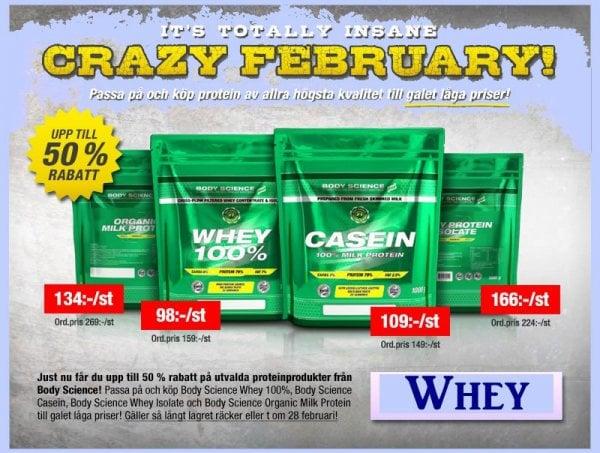 Whey Proteinpulver Kasein Protein