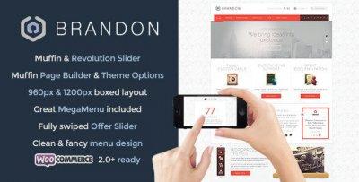 Brandon wordpress tema företag