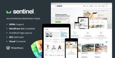 Sentinel wordpress tema företag