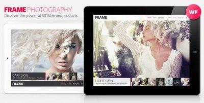 Frame wordpress tema fotograf