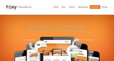 Foxy wordpress tema företag