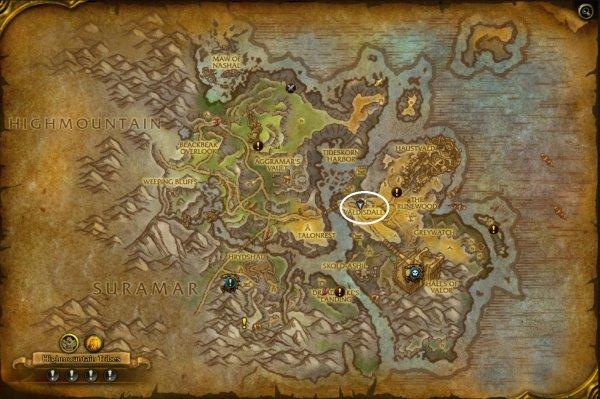 Broken Isles Wow Map