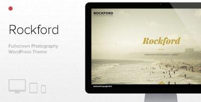 Rockford wordpress tema fotograf