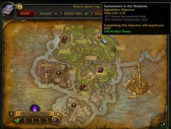 Bonus objectives legion
