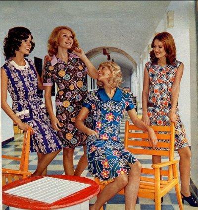 Bild på 70 tals mode