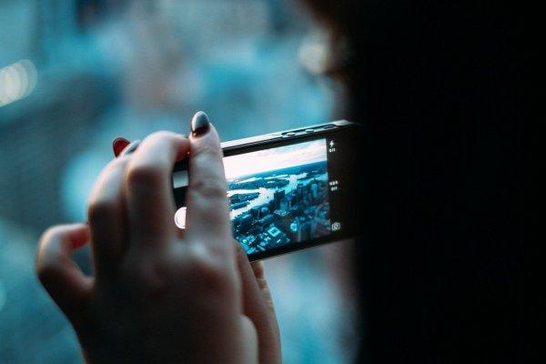 ta kort med mobiltelefonen