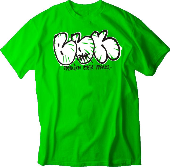TRIKO BBK - Throw Up BBK kelly green
