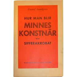 Akarps antikvariat Lundgren Minneskonstnär