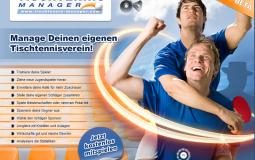 Tischtennis-Manager-Onlinespiel Browsergame