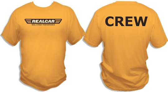 Realcars tshirts