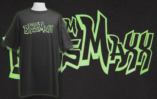 Tryckta t-shirts till BassMaxx ljudklubben