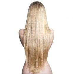 Brasilianskt blond rakt löshår