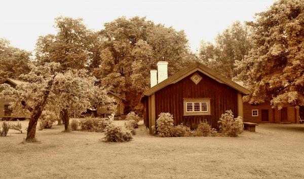 hus på landet
