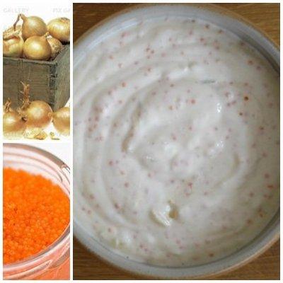 dressing på turkisk yoghurt