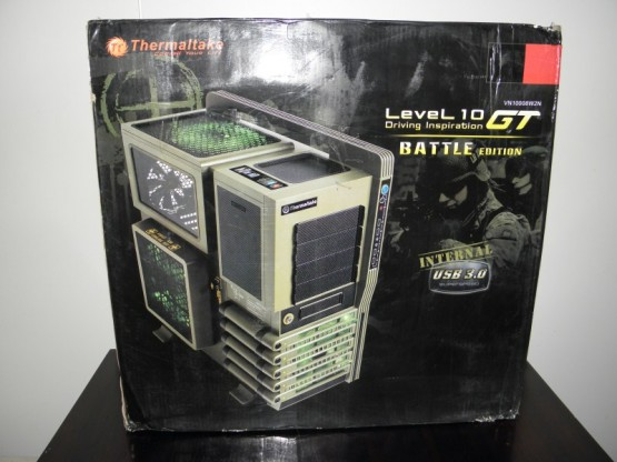 Thermaltake Level 10 GT Battle edition laatikko