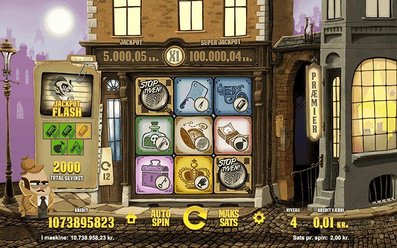 inspector spilleautomater arkadespil.com