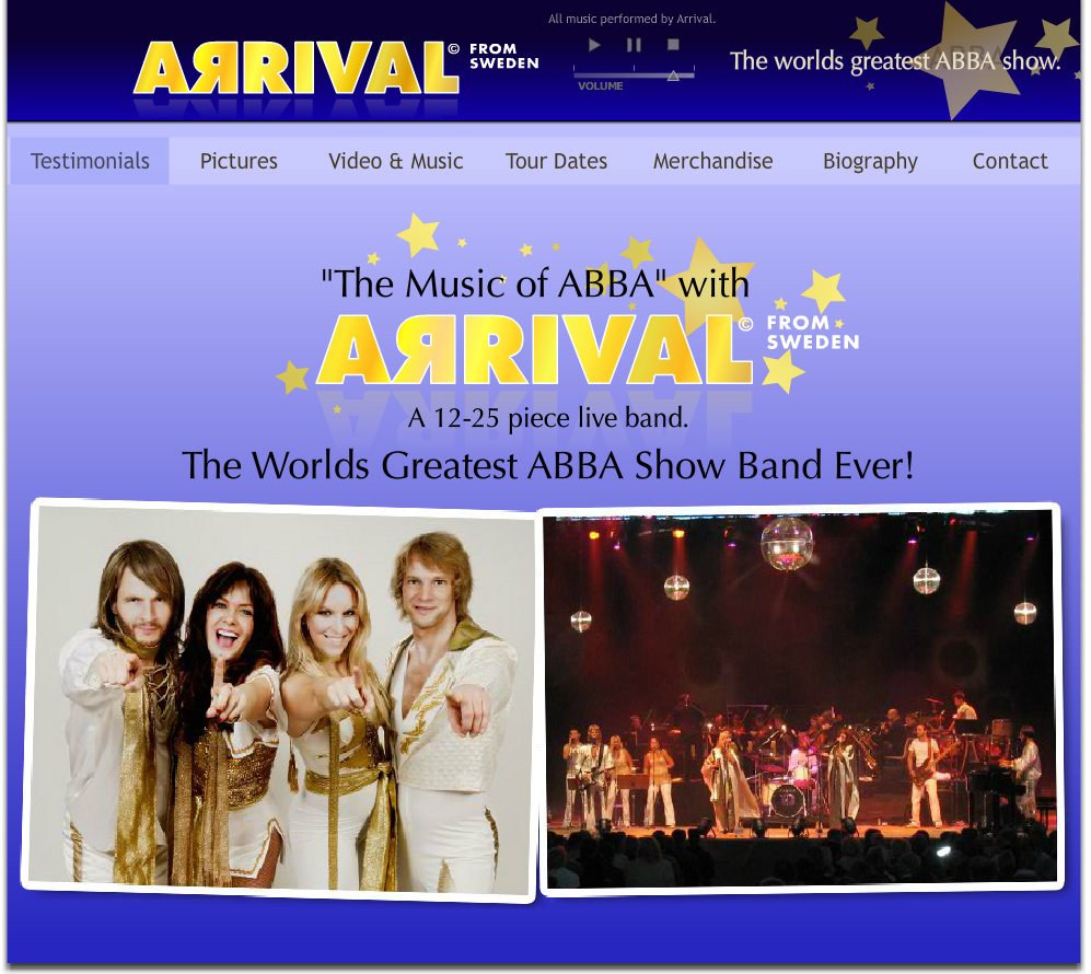 ABBA Tribute Band Arrival The worlds greatest ABBA show