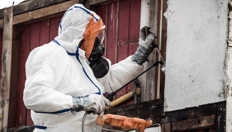 Asbestsanering i Örebro.