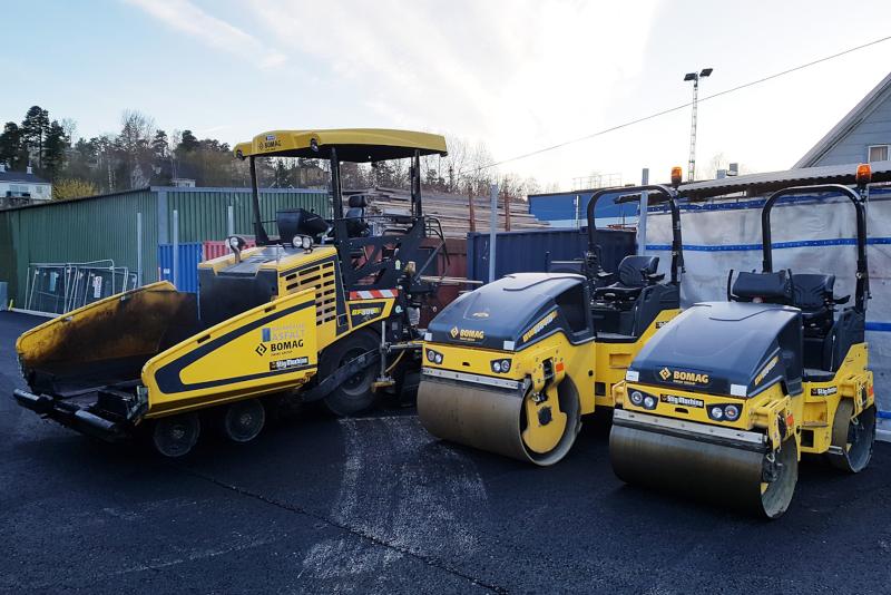 Vi är en proffessionell firma som lägger asfalt i Västerås.