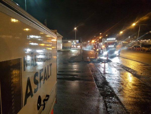 Vi utför underhållningsarbete och asfaltering i Enköping.