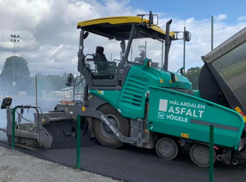 Vi utför alla tjänster inom asfaltering i Västerås och Mälardalen.