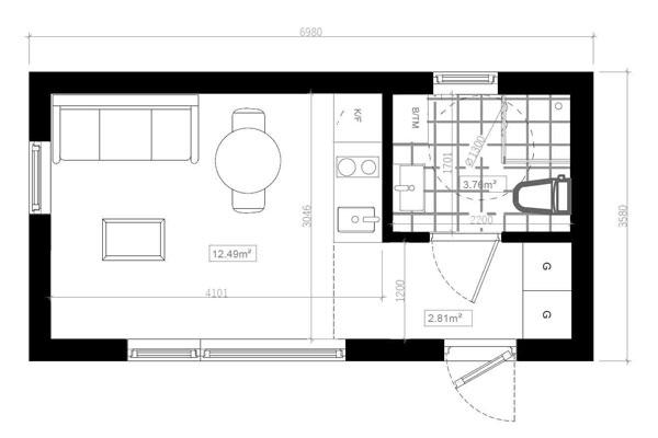 ritningar för Attefallshus