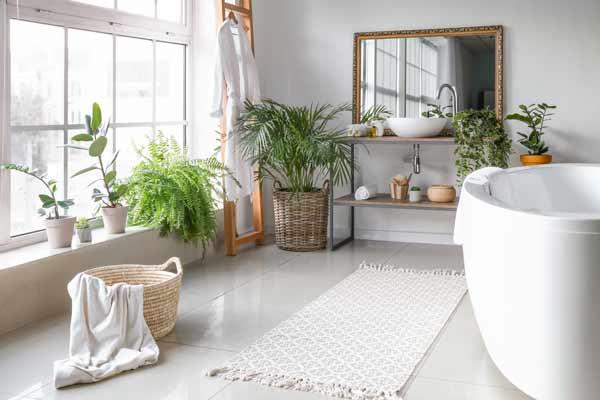 växter i badrummet
