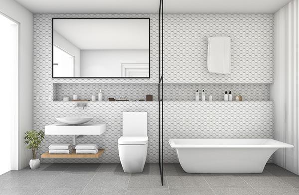 modern badrumdesign