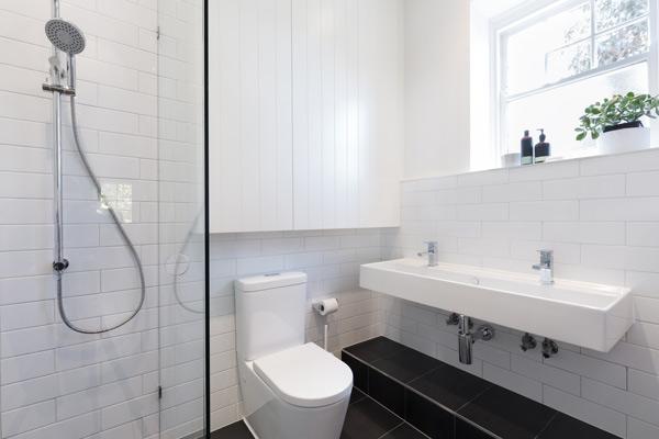 välplanerat litet badrum