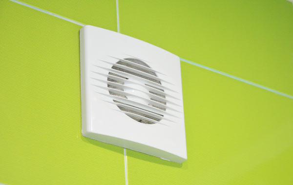 ventilation i badrum