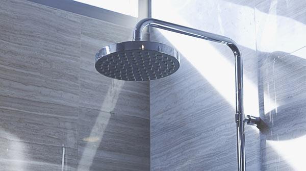 takdusch för badkar