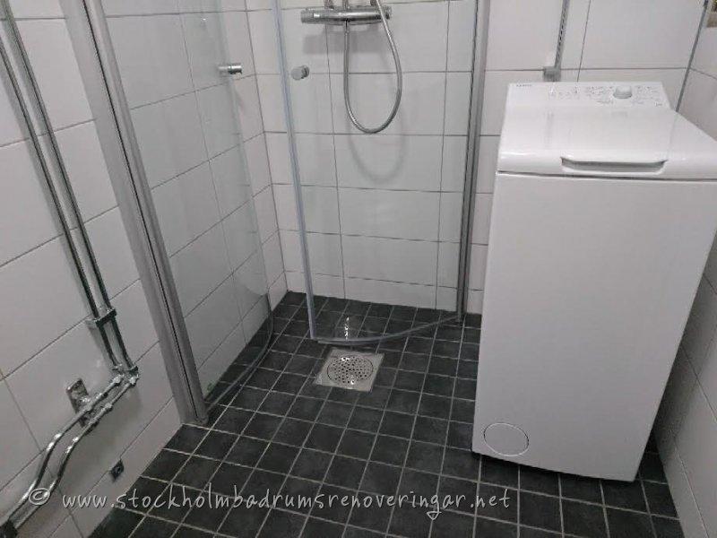 Dusch i Stockholm