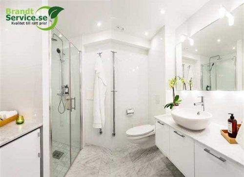 Färdigställd badrumsrenovering