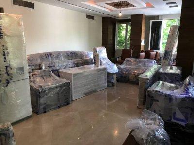بسته بندی وسایل خانه برای اثاث کشی
