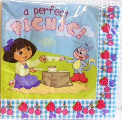Senaste nytt Dora servetter
