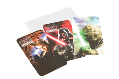 Senaste nytt Star Wars inbjudningskort