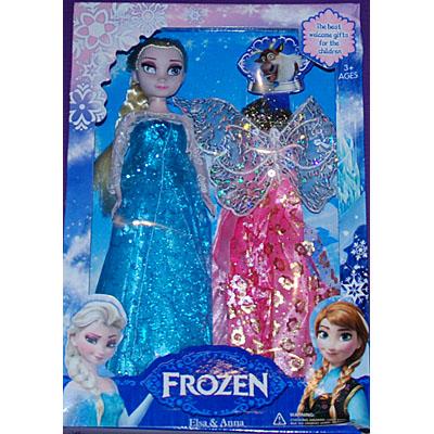 Senaste nytt Disney Princess Frost Frozen Elsa docka