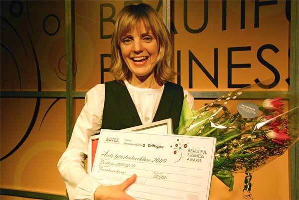 Kicki Theander - Årets Tjänstutvecklare 2009