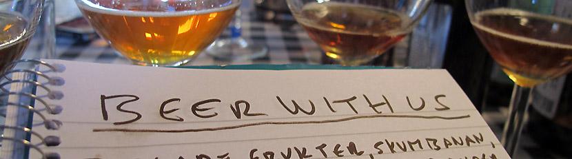 Beer with us – en ölblogg