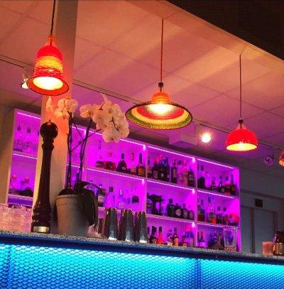 RGB belysning bar