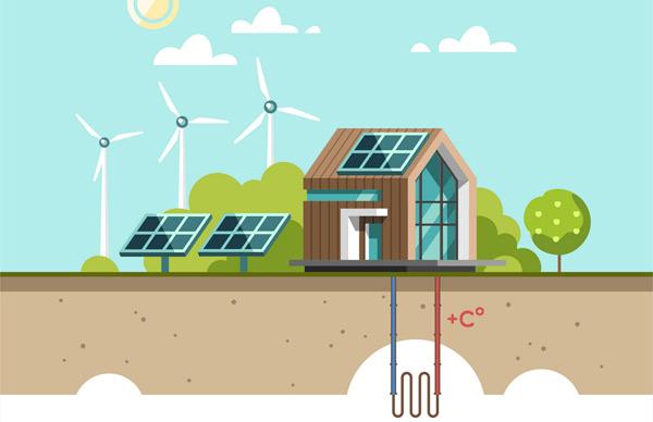 bergvärme förnyelsebar energi