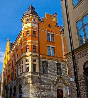 Bostadshus från sekelskiftet i Stockholm